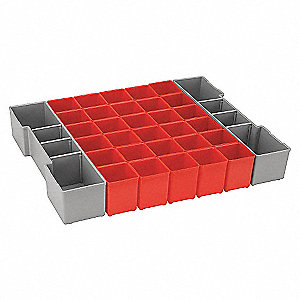 INSERT BOX KIT RED FOR L-BOXX1A