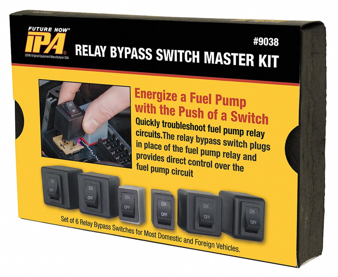 Fuel Pump Relay Bypas Master Kit