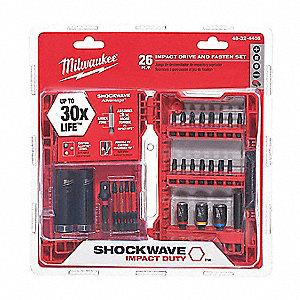 Milwaukee 48-32-4408 26 pièces Shockwave Impact Drive Bit Set 2020