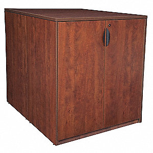 Storage Cabinet,Back to Back,Cherry