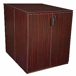 "36"" x 46"" x 42"" Legacy Series Combination File Cabinet, Mahogany"