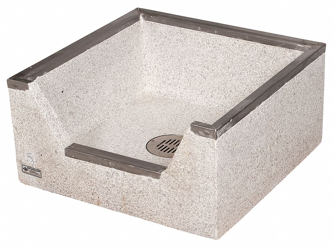 Corner Mop Sink : ... Mop Sink (Without Faucet). Model: TDF-24-SSC (Plumbing Mop Sinks