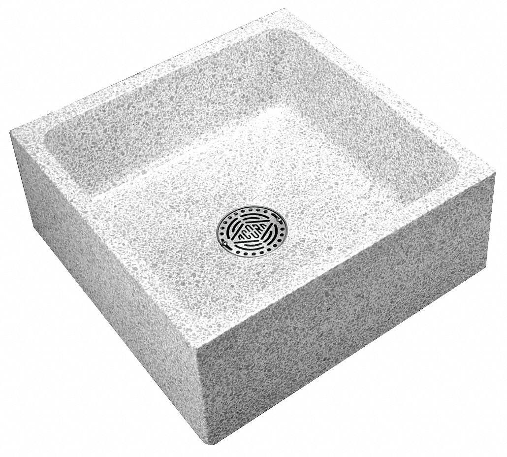 ... Mop Sink (Without Faucet). Model: TRH-242410 (Plumbing Mop Sinks