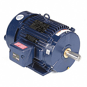 10 HP IEEE 841 Motor,3-Phase,3535 Nameplate RPM,Voltage 460,Frame 215T