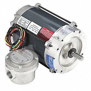 1/4 HP Hazardous Location Motor,Capacitor-Start,1725 Nameplate RPM,115/208-230 Voltage,Frame 56C