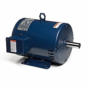 20, 8-7/8 HP Belt Drive Motor, 3-Phase, 1765/1170 Nameplate RPM, 460 Voltage, Frame 286T