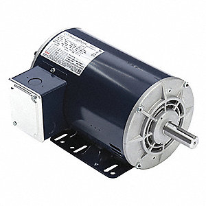 2-spd, 2-winding,3-Ph,Drip Proof,1-1/4HP