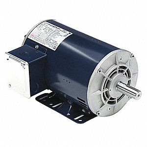 1, 7/16 HP Belt Drive Motor, 3-Phase, 1725/1140 Nameplate RPM, 200-230 Voltage, Frame 145T