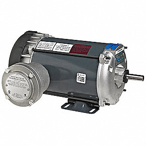 1/6 HP Hazardous Location Motor,Capacitor-Start,1140 Nameplate RPM,115 Voltage,Frame 56