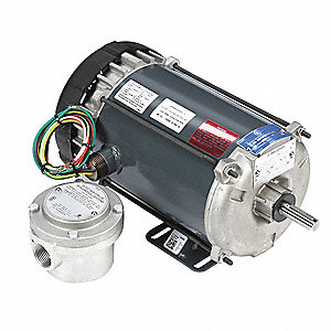 1/2 HP Hazardous Location Motor,Capacitor-Start,1140 Nameplate RPM,115/208-230 Voltage,Frame 56