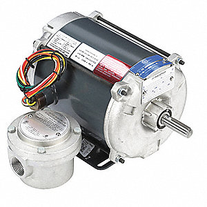 1/4 HP Hazardous Location Motor,Capacitor-Start,1725 Nameplate RPM,115/208-230 Voltage,Frame 56