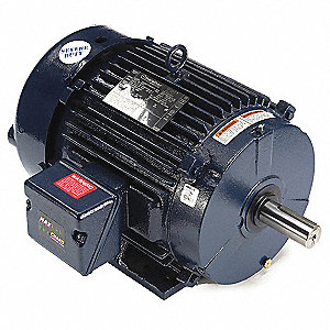 10 HP Severe Duty Motor,3-Phase,1765 Nameplate RPM,Voltage 230/460,Frame 215T