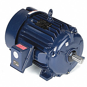 25 HP Severe Duty Motor,3-Phase,3560 Nameplate RPM,Voltage 460,Frame 284TS