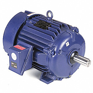 25 HP Severe Duty Motor,3-Phase,1770 Nameplate RPM,Voltage 575,Frame 284T