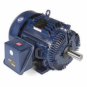 60 HP General Purpose Motor,3-Phase,1780 Nameplate RPM,Voltage 575,Frame 364T