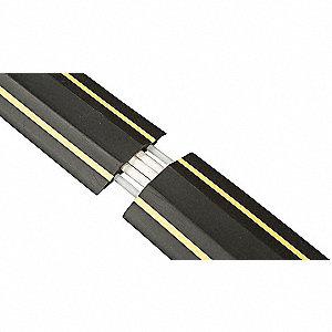 d line floor cable cover 1 channel 6 ft 19rz87 us fc83h grainger. Black Bedroom Furniture Sets. Home Design Ideas