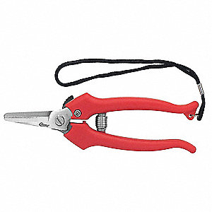 "Wire Cutter,5-3/4"" Overall Length,Shear Cut Cutting Action,Primary Application:  Soft Wire"