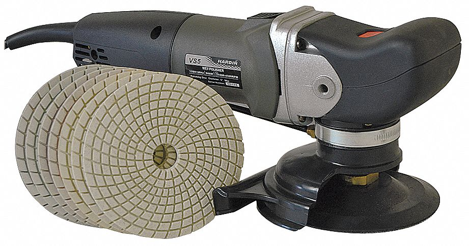 Wet Polisher,  8A,  6 ft.