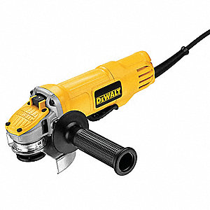 "9-Amp Paddle-Switch Angle Grinder with 4-1/2"" Wheel Dia."