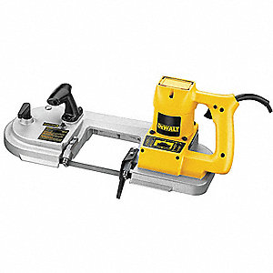 Deep Cut Portable Band Saw, Variable Speeds, 245 Surface Ft. per Min. High