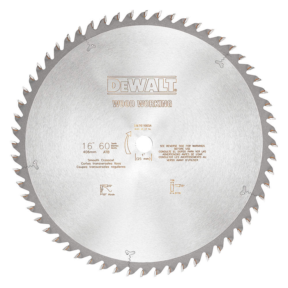 Dewalt 16 carbide combination circular saw blade number of teeth zoom outreset put photo at full zoom then double click greentooth Image collections