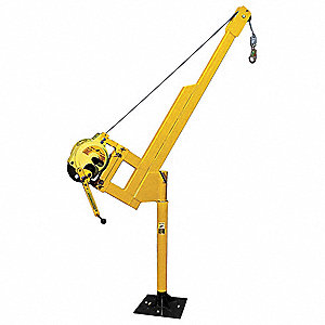 Retrieval System, 50 ft., 310 lb., Yellow