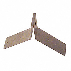Roof Anchor,310 lb.,12-1/2inLx1-3/4inW