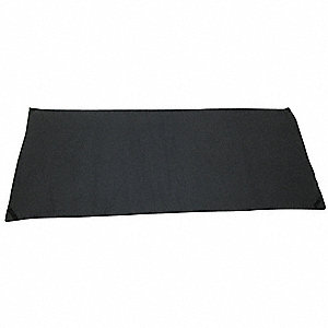Fleece Pad,82 in. x 34 in. x 2 in.,Gray