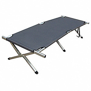 Military Cot,76in x 25in x 13in,300 lb.