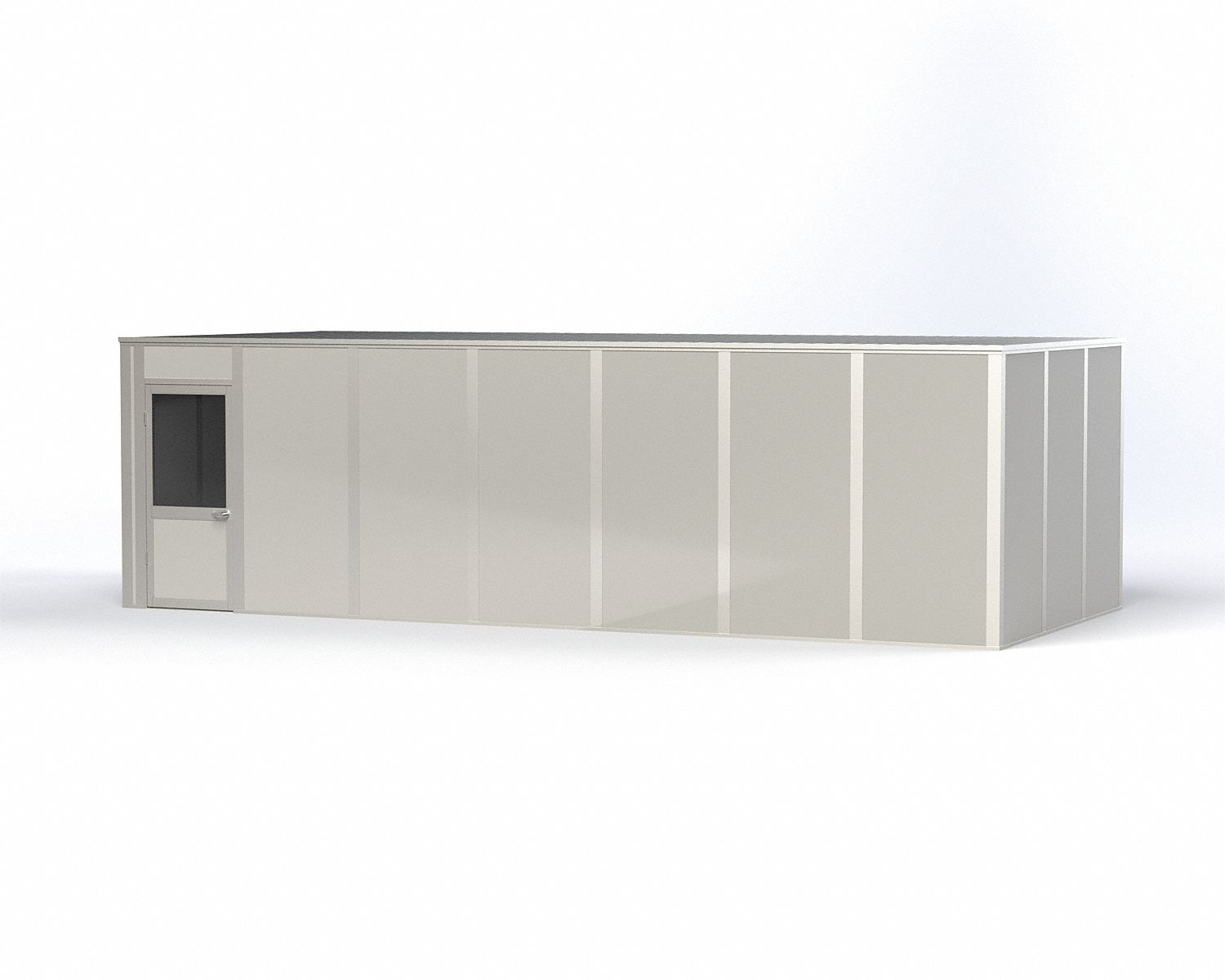 Modular In-Plant Office,  4-Wall,  28 ft. Width,  12 ft. Depth,  8 ft. Height