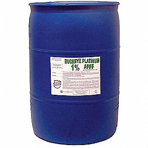 Fire Suppression Foam,55 gal.,1%