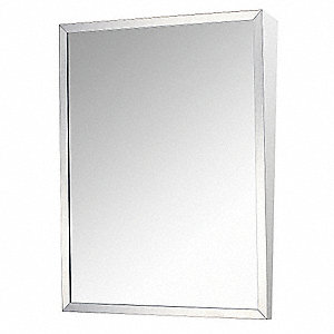 Mirror,Fixed Tilt,16 in. W x 30 in. H