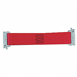 Tie Down Strap, 1 ftL x 2 inW, 1,467 lb Load Limit, Adjustment: Ratchet