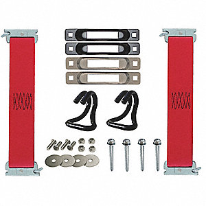 "Hang Strap Kit, 1 ft.L x 2""W, 1467 lb. Load Limit, Adjustment: Not Adjustable"
