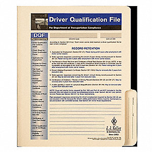 Driver Qualification File,Driving Safety