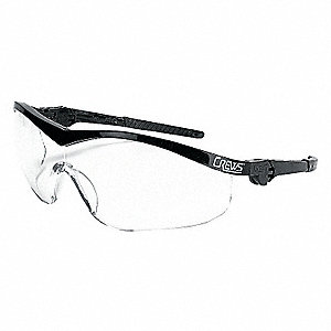 PROT EYEWEAR BLACK FRAME CLEAR