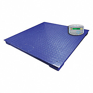 3000kg/5000 lb. Digital LCD Floor Scale with Remote Indicator