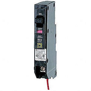 SCHNEIDER ELECTRIC Circuit Breaker,Smart Home,120VAC - 19YP30 ...