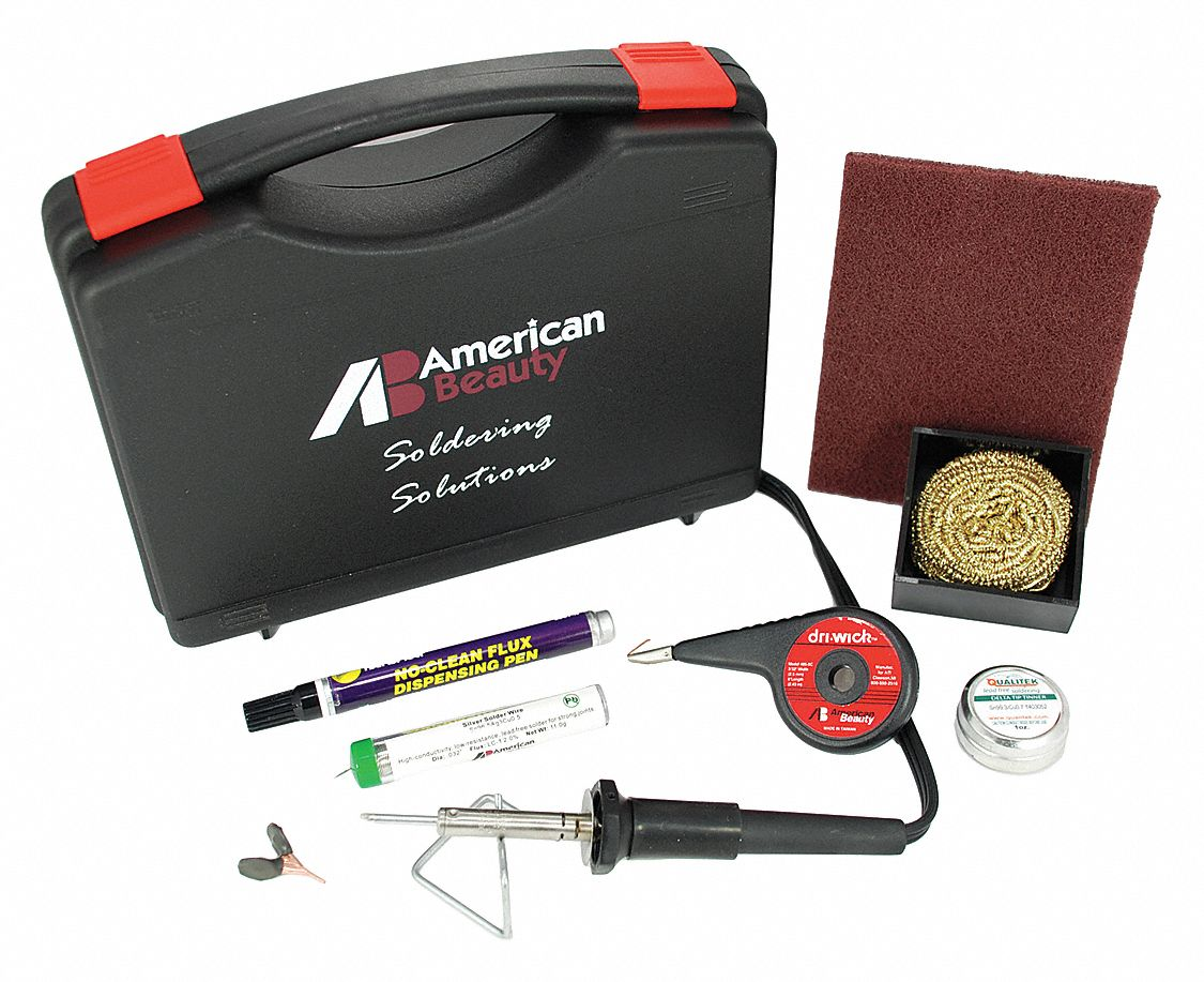 Electric Soldering Kit; For PCB, Small Connectors and Tight Jobs