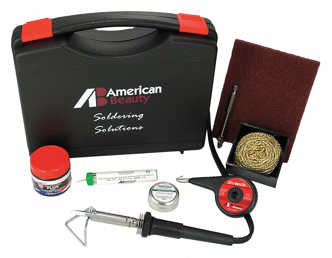 Electric Soldering Kit; For Almost any Soldering Need