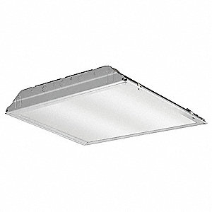 Recessed Troffer, LED Replacement For U-Bend, 3500K, Lumens 2000, Fixture Rated Life 50,000 hr.