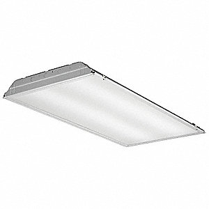 Recessed Troffer, LED Replacement For 3 Lamp LFL, 4000K, Lumens 4800, Fixture Rated Life 50,000 hr.