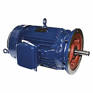 150 HP Vertical Pump Motor, 3-Phase, 890 Nameplate RPM, 460 Voltage, 444HPV Frame