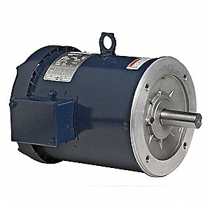 General Purpose Motor,3-Ph,TEFC,5 HP