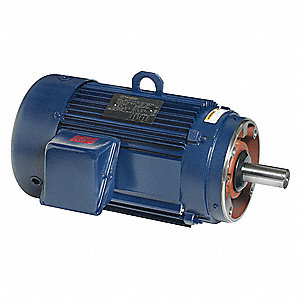 15 HP General Purpose Motor,3-Phase,3535 Nameplate RPM,Voltage 230/460,Frame 254TC