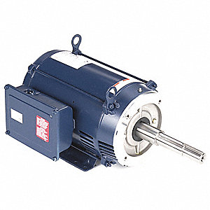 10 HP Close-Coupled Pump Motor,Capacitor-Start,3465 Nameplate RPM,230 Voltage,215JP