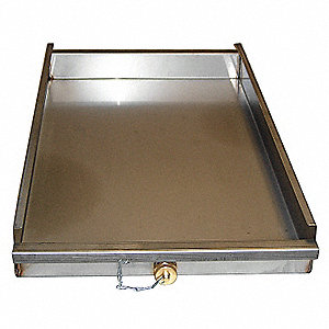 Grease Water Tray