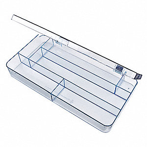 Compartment Box,Clear