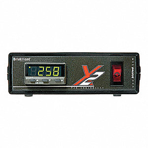 Temperature Controller, 1/32 DIN Size, 120VAC Input Voltage, Switch Function: Yes