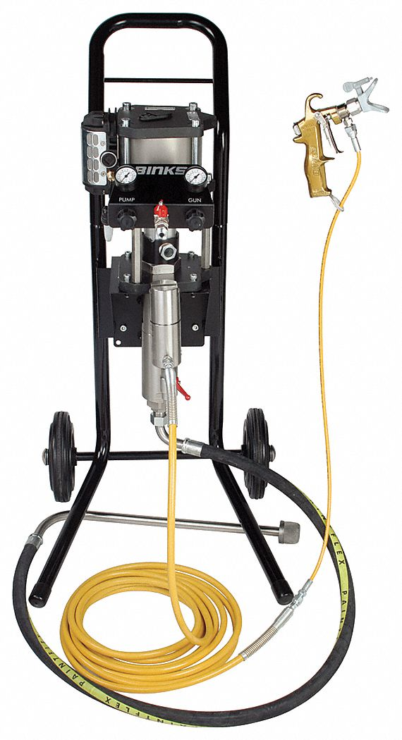 Air Powered Airless Paint Sprayers